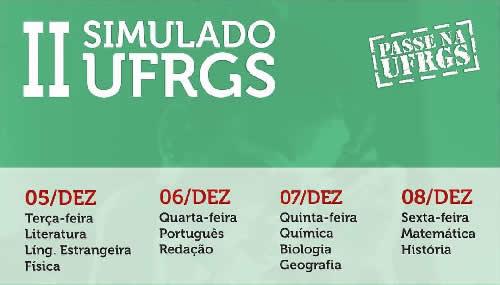 II SIMULADO UFRGS